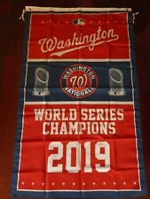 Washington Nationals World Series 3x5 Flag.US seller.Free shipping within the US