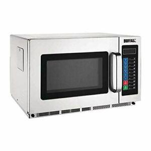 Buffalo Programmable Commercial Microwave - 34Ltr 1800watt