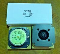 "2) New MGT Car Audio CSP-350D 3"" 60W 4ohm Flush Silk Soft Dome Tweeters JAPAN"