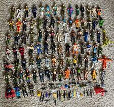 Vintage Gi Joe Action Figures & Accessories Lot 139 Pieces $.01 Nr!
