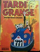 """Tardi - Grange -""""Entretiens croisés""""  Album broché + 1 ex libris signé"""