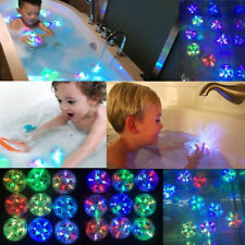 Kids Baby LED Blink Light Toys Waterproof In Tub Bath Color Changing Bathroom UK