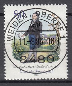 BRD 1983 Mi. Nr. 1183 gestempelt WEIDEN OBERPF 1 , mit Gummi TOP! (16829)