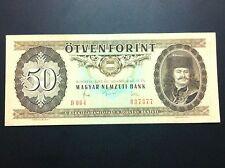 HUNGARY BANKNOTE- 50 FORINT 1983 + GRATIS 3 BANKNOTES !!!