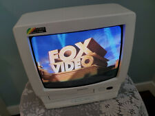 Panasonic Omnivision 14 Inch TV/VCR Combo VHS Player PV-M1356W No Remote Works