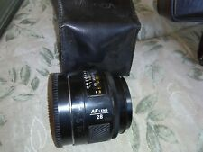 minolta af lens 28  maxxum af 28 mm 1:2.8