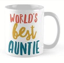 Auntie Aunty Aunt mug Birthday gift idea present tea coffee relative