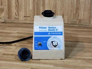 Fisher Model G-560 Vortex Genie 2 Shaker Mixer Cat. No. 12-812