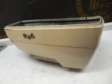 yamaha venture royale 1300 xvz1300 RH right saddlebag saddle bag cream 88 1988