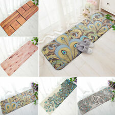 Soft Doormat Anti-slip Flannel Door Mat Kitchen Floor Rug Bathroom Long Carpets