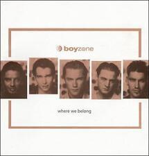 Where We Belong [Universal] by Boyzone (Boy Band) (CD, May-1998, Universal)