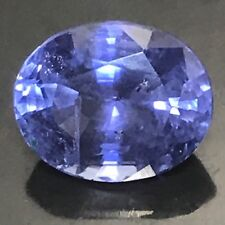 Natural 2.58 Carat Blue Sapphire Unheated Oval Genuine Loose Gemstone Ceylon