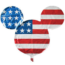 MICKEY MOUSE AMERICAN FLAG SUPERSHAPE FOIL BALLOON ~ Birthday Party Supplies