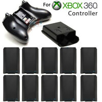10X Black AA Battery Back Cover Case Shell Pack For Xbox 360 Wireless Controller
