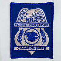 NRA National Police Pistol Championships National Rifle Association Patch (A2-B)