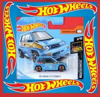Hot Wheels 2019   ´85 HONDA CITY TURBO II  81/250  NEU&OVP