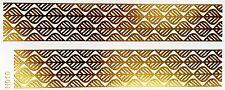 Tattoo Gold Einmal Flash Klebe Temporary 2teile Armband Hals Kette Fuß Body H10