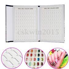 Kit de Esmalte de Uñas de Gel 180 Colores Arte en Uñas Color Guía De Pantalla Tarjeta Junta Libro Consejos