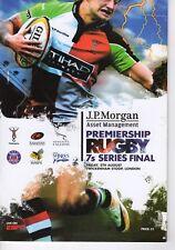 Programme Rugby Union Premiership Rugby 7's series @ Twickenham Stoop 5.8.2011