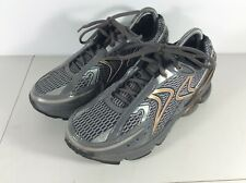 Aetrex Rx Runner Mens Size 8 Wide Running Shoes Gray / Copper Q434