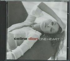 CELINE DION - ONE HEART 2003 EU CD ALBUM I DROVE ALL NIGHT ONE HEART FAITH