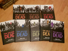 The Walking Dead Hardcover Book Set 1 2 3 4 5 6 7 & 8 - Some new still sealed