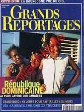 Grands reportages 202 1998 République Dominicaine Inuits Côte d'Or