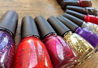 CHINA GLAZE Nail Polish Lacquer Random Rare Discontinued Shades *PICK COLOR* NEW