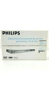 New Philips DVP5140 DVD Player With Remote Manual Sealed box.