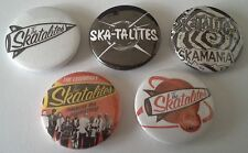 5 The Skatalites button badges Ska Specials English UK Ska Selecter Madness