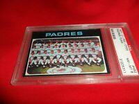 1971 OPC O-pee-chee Topps #482 San Diego Padres Team NM MINT  PSA 8