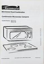 Kenmore Microwave Oven Owners Manual  665.61701-665.61709