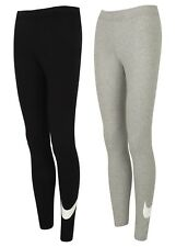 Nike Womens Ladies Sportswear Swoosh Cotton Gym Leggings Sports Training Pants