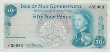 More details for p28a isle of man 50 pence banknote in good very fine condition.