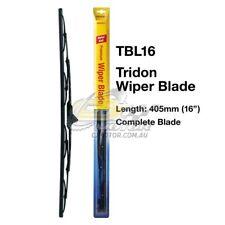 "TRIDON WIPER COMPLETE BLADE PASSENGER FOR Daihatsu Charade-G10 04/80-03/83  16"""