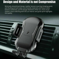 Qi Wireless Car Charger 10W Touch Sensor Charging Holder Mount For Apple iPhone