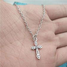 Jesus cross silver Necklace pendants fashion jewelry accessory,creative Gifts