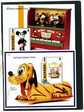 Guyana 1996 Disney Antique Toys Set Of 2 S/S Mnh