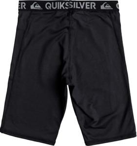 Quiksilver Boy's Rashie Swimsuit Shorts Black Size L/14