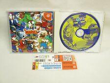 Dreamcast MARVEL VS CAPCOM CLASH OF SUPER HEROES with SPINE CARD * Sega Japan dc