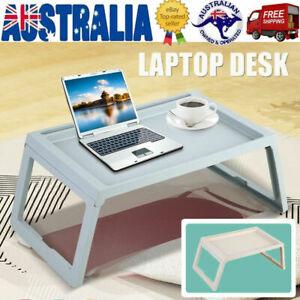 Foldable Desk Laptop Stand Table Breakfast Bed Tray Computer Portable Serving AU