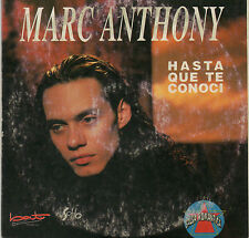 "MARC ANTHONY ""HASTA QUE TE CONOCI"" ULTRA RARE SPANISH CD SINGLE / BAT RECORDS"