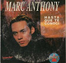"MARC ANTHONY ""HASTA QUE TE CONOCI"" ULTRA RARE SPANISH CD SINGLE / BAT RECORDS"