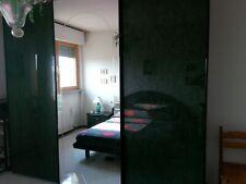 Camera da letto matrimoniale completa in laccato - Roma