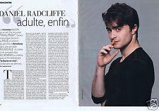 Coupure de presse Clipping 2012 Daniel Radcliffe   (2 pages)