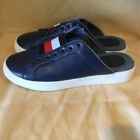 SALE: TOMMY HILFIGER STUNNING NEW Women's Slip On Sneakers * Size 9.5 Blue