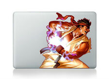 Ryu Hadouken Street Fighter Sticker Vinyl Decal Skin Macbook Air/Pro/Retina 13""