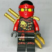 New Ninjago LEGO® Kai Red Fire Ninja Master Skybound Minifigure 70591 70605