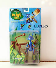"6"" Warrior Flik A Bug's Life Pvc Action Figure Mattel Pixar Brand New 1998"