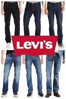 Levis 527 Slim Fit Boot Cut Jeans Levis Bootcut Jeans